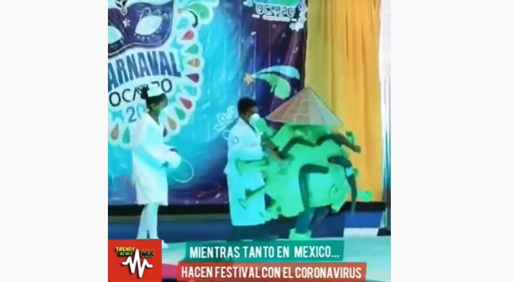 VIRAL EN LAS REDES: nene se disfrazó de coronavirus y bailó al ritmo de la cumbia