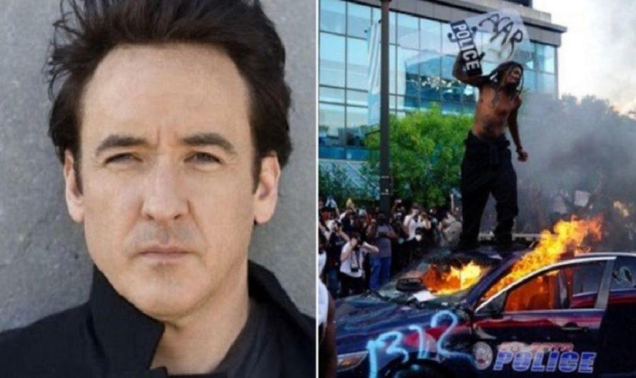[VIDEO] El actor John Cusack fue agredido por policías en medio de las protestas en Estados Unidos