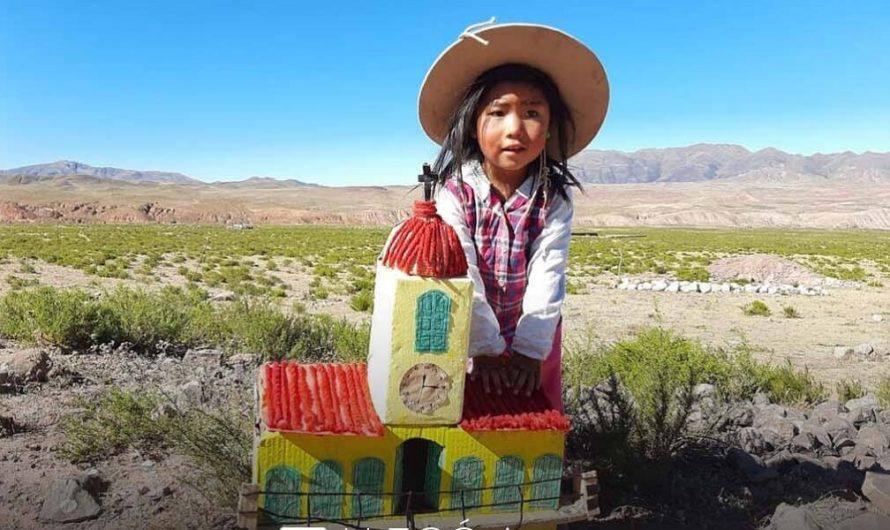 La emotiva historia de Delfina: la nena de 3 años que hizo patria en medio de los cerros