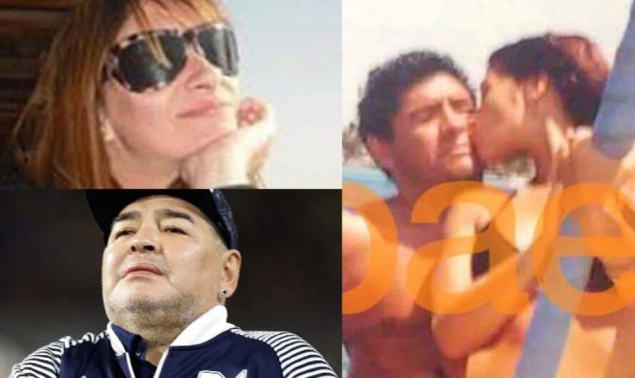 La foto de Laura Cibilla, en Cuba junto a Maradona ¿Estaba embarazada del Diego?