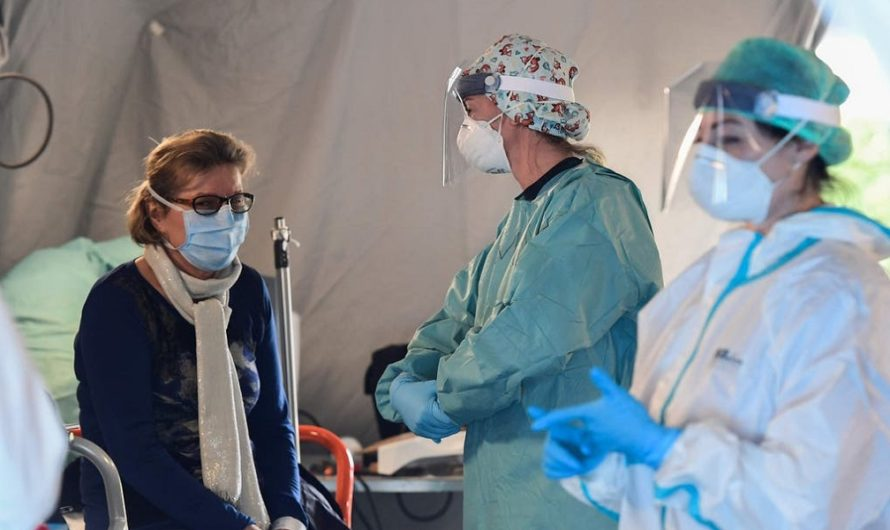 """""""Esto es inhumano"""": el crudo relato de una enfermera por la pandemia"""