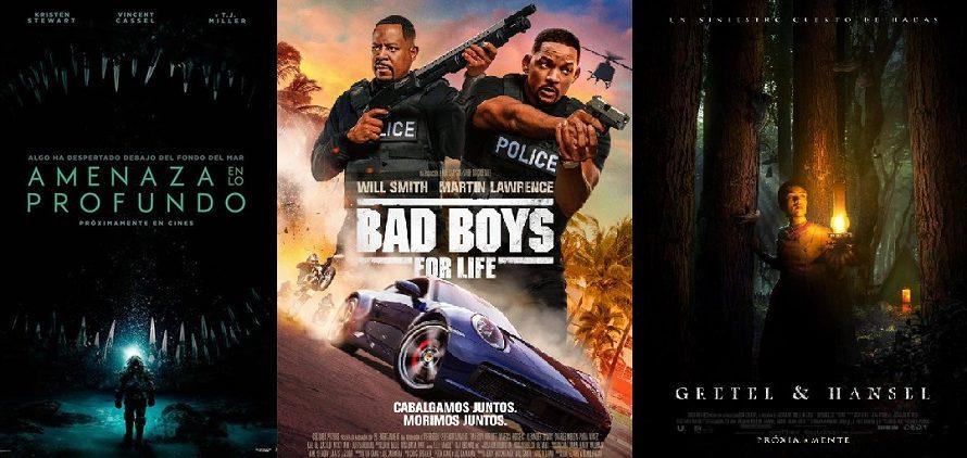 Los Estrenos de esta semana: Bad Boys for life, Peligro en lo profundo, Gretel y Hansel