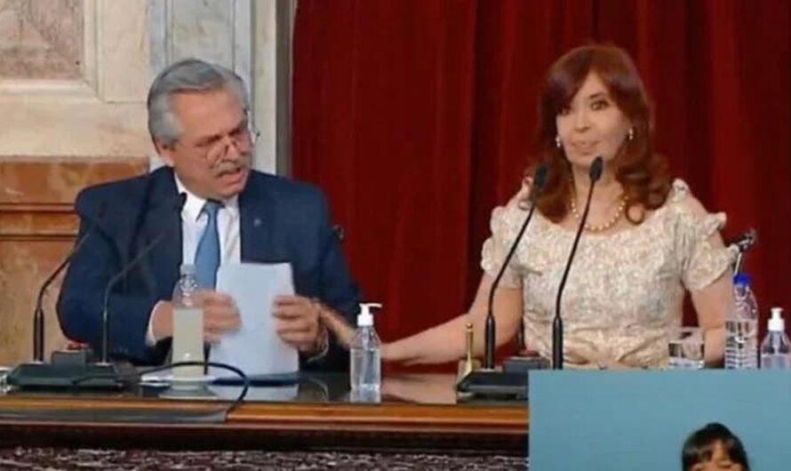 """""""Basta, Alberto"""": estallaron los memes tras el gesto de Cristina en el Congreso"""