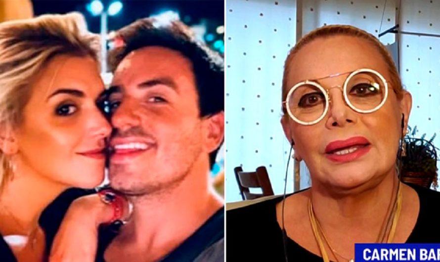 """Carmen Barbieri habló de los tiernos cuidados de la novia de Fede Bal: """"Cuando él va al baño…"""" [VIDEO]"""
