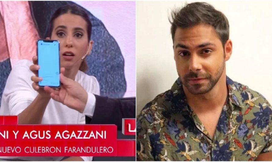 Cinthia Fernández mostró su chat privado con Grego Rossello ante la «acusación» de un romance