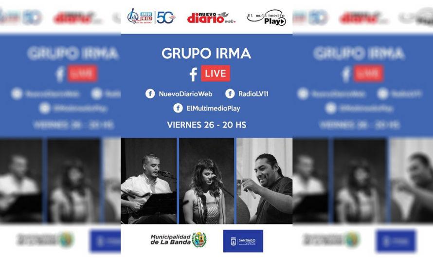 El Grupo Irma y un imperdible show a través de las redes del Multimedio