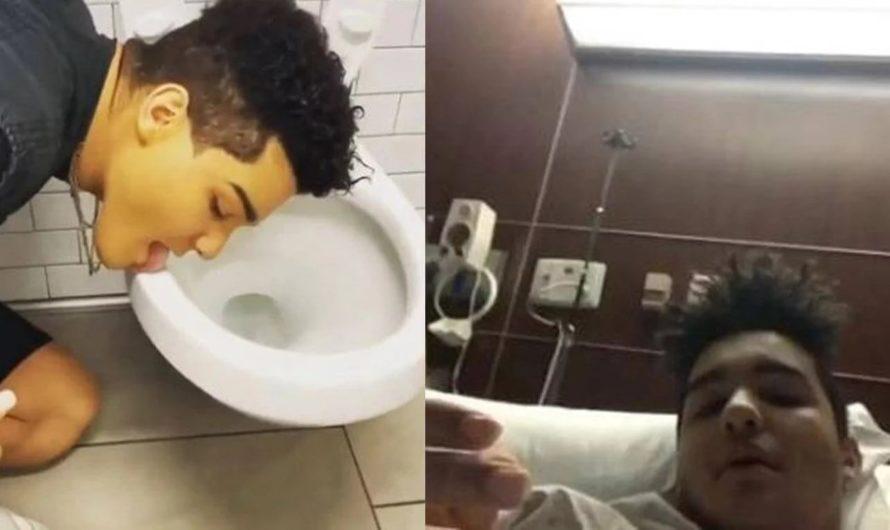 El bolu* del año: lamió un inodoro, lo hospitalizaron y ahora tiene coronavirus