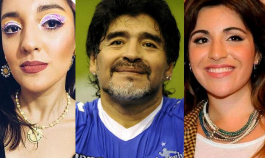 Jana y Gianinna recordaron a Diego Maradona con estos videos