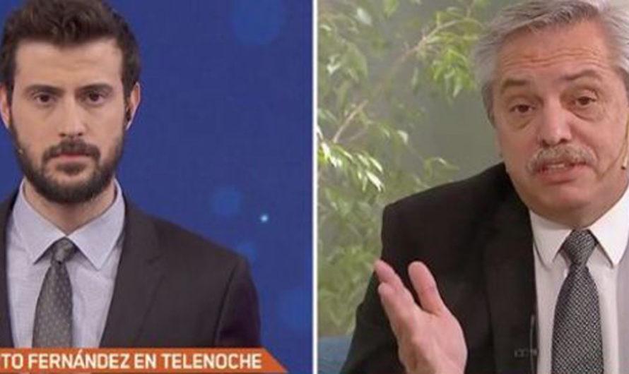 """""""Qué tristeza verlo tan violento"""", la respuesta de Leuco a Alberto Fernández por un retuit"""