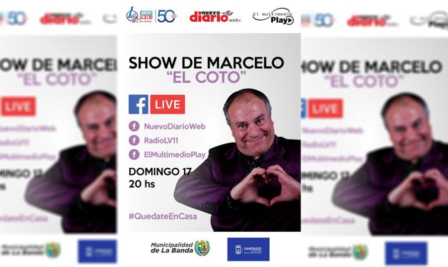 """Imperdible: Marcelo """"El Coto"""" te lleva a disfrutar de una noche a puro humor por El Multimedio Play"""
