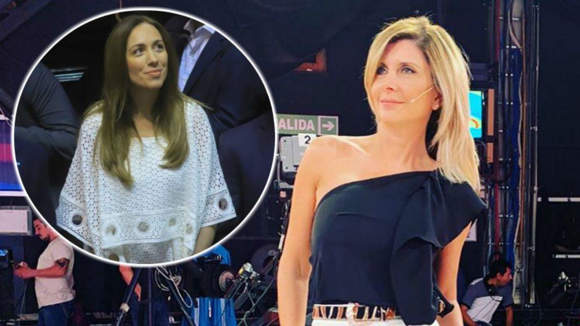Débora Plager no tuvo piedad con el look de Vidal: «Parece una cortina de baño»