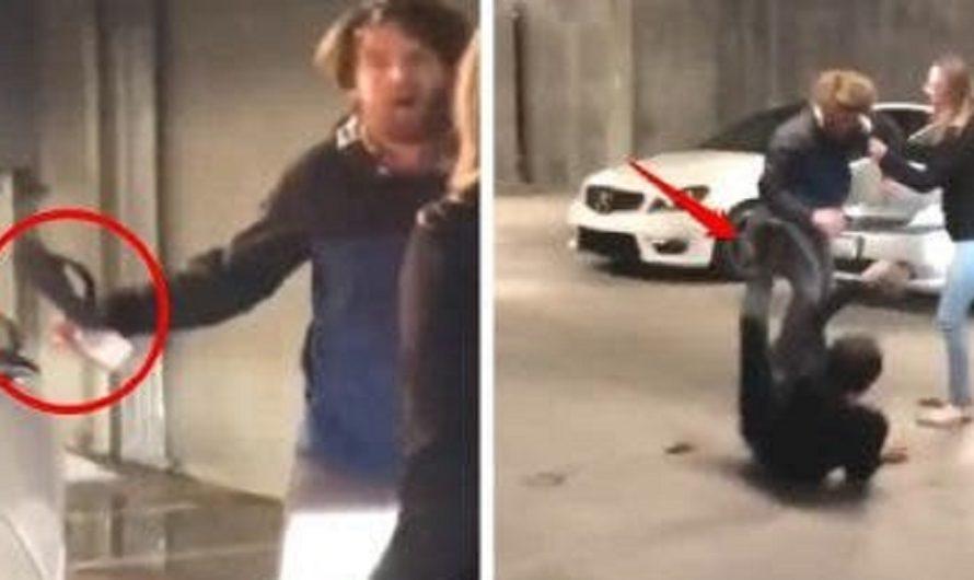 """""""No tienes derecho a estar aquí"""": Sujeto interceptó a un joven y le impidió entrar a su propia casa [VIDEO]"""