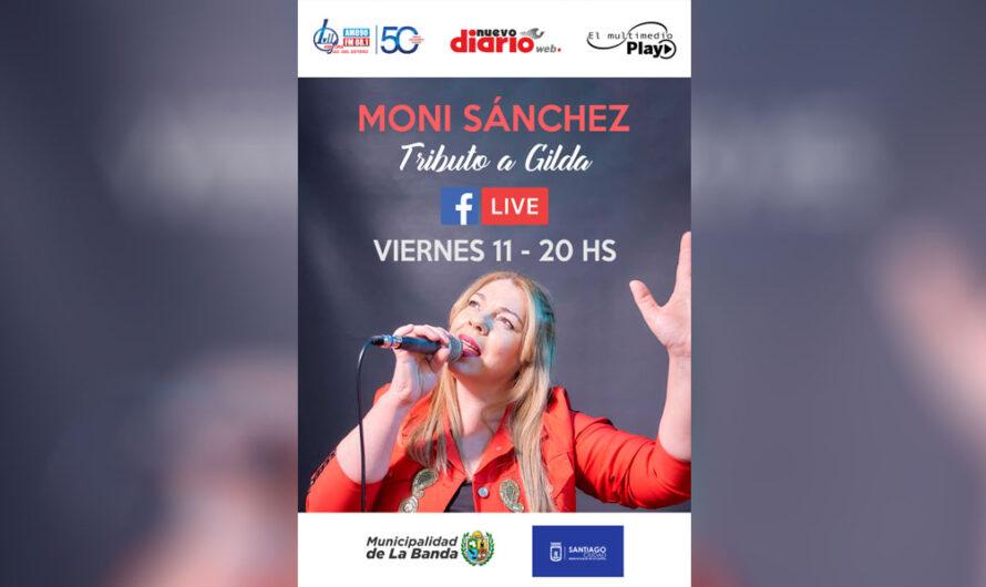 Este viernes 11, Moni Sánchez en vivo a través del Facebook de NDW, EMP y LV11