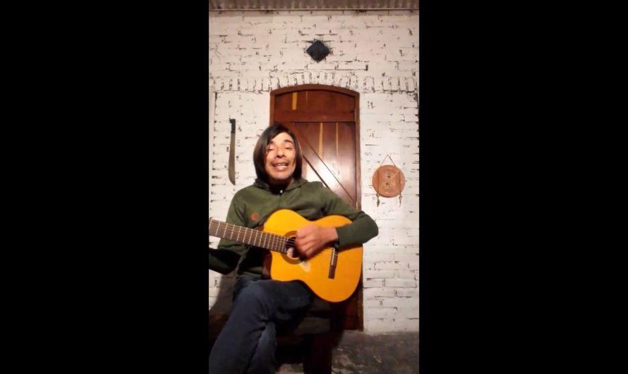 VIDEO: Pablo Carabajal cantó para toda la provincia a través de El Multimedio Play