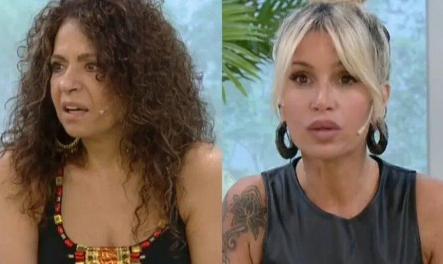 Patricia Sosa no pudo esconder su cara de asco durante el programa de Florencia Peña