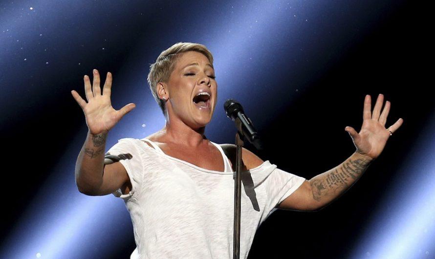 La cantante Pink y sus tres hijos fueron diagnosticados con coronavirus