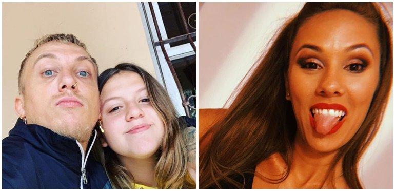La hija de El Polaco bancó a Barby Silenzi, pero le hizo un reclamo al papá