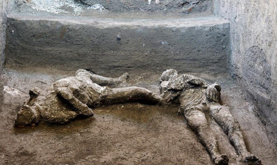 Impactante hallazgo: encontraron los restos de un amo y su esclavo, huyendo de la erupción del volcán Vesubio hace 2.000 años