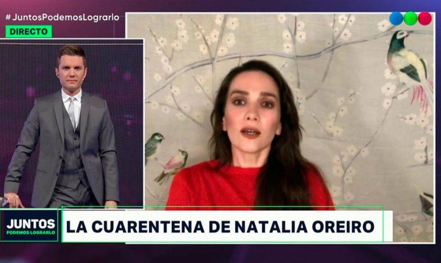 Natalia Oreiro habló de la enfermedad que sufre y no tiene cura