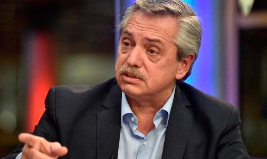 Alberto Fernández habló del viaje de Marcelo Tinelli a Esquel