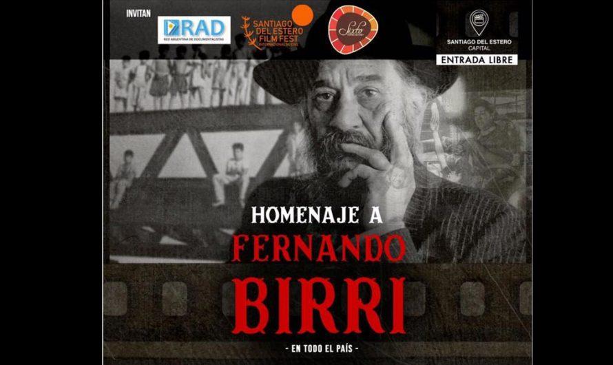 Santiago participa del homenaje federal al cineasta Fernando Birri a 95 años de su nacimiento
