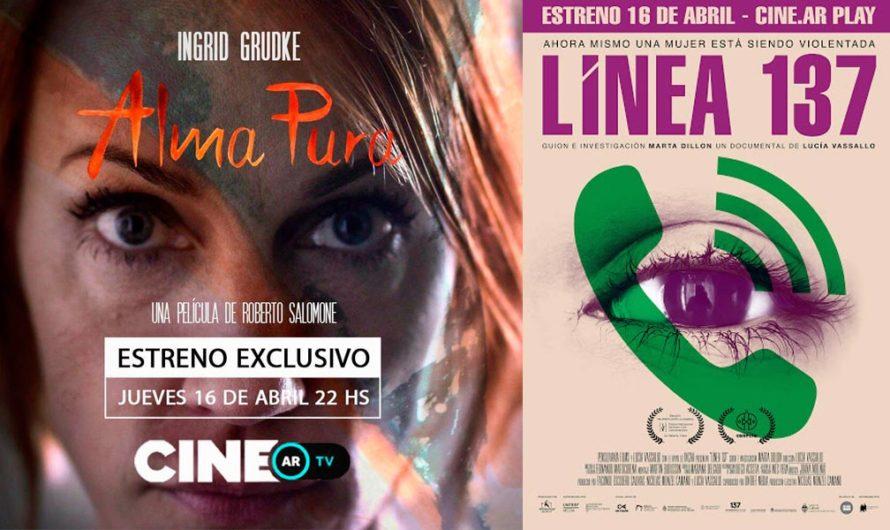 Dos estrenos argentinos gratis por las plataformas Cine.ar del Incaa