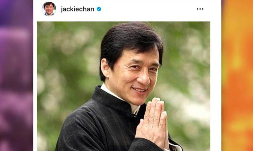 Jackie Chan desmiente estar en cuarentena por coronavirus