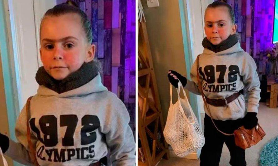 Una niña de 7 años ganó un concurso de disfraces vestida de Tronchatoro