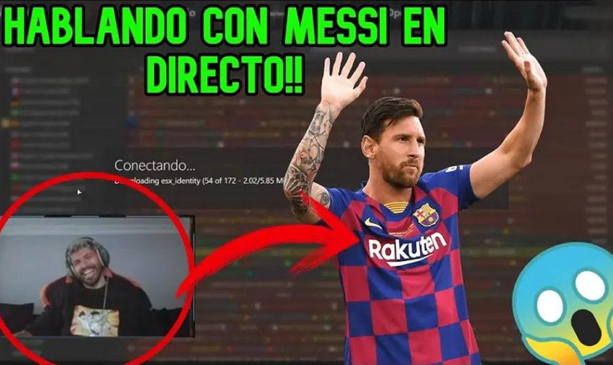 La particular charla entre el Kun Agüero y Messi mientras esperaba para jugar a la Play