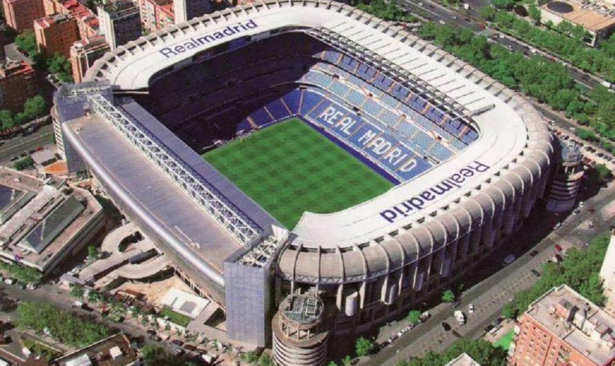 [NUNCA LO VISTE ASÍ] El Santiago Bernabéu sin césped y con una cueva de 30 metros de profundidad