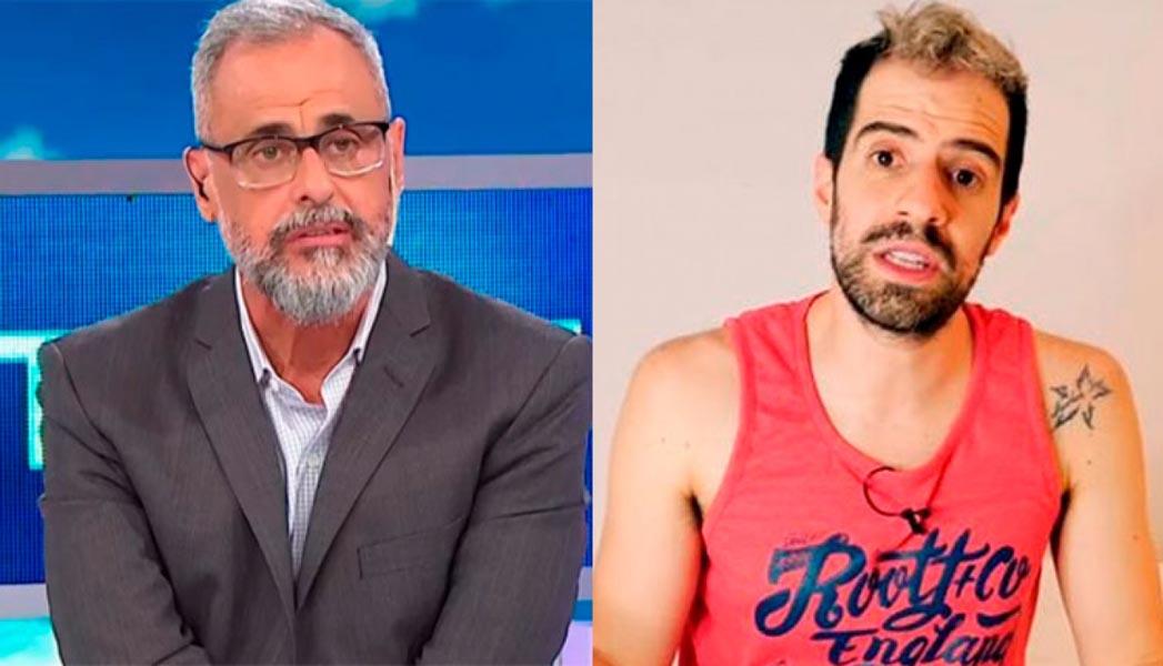 Jorge Rial se burló del mal momento de «La Faraona» y el youtuber salió con los tapones de punta