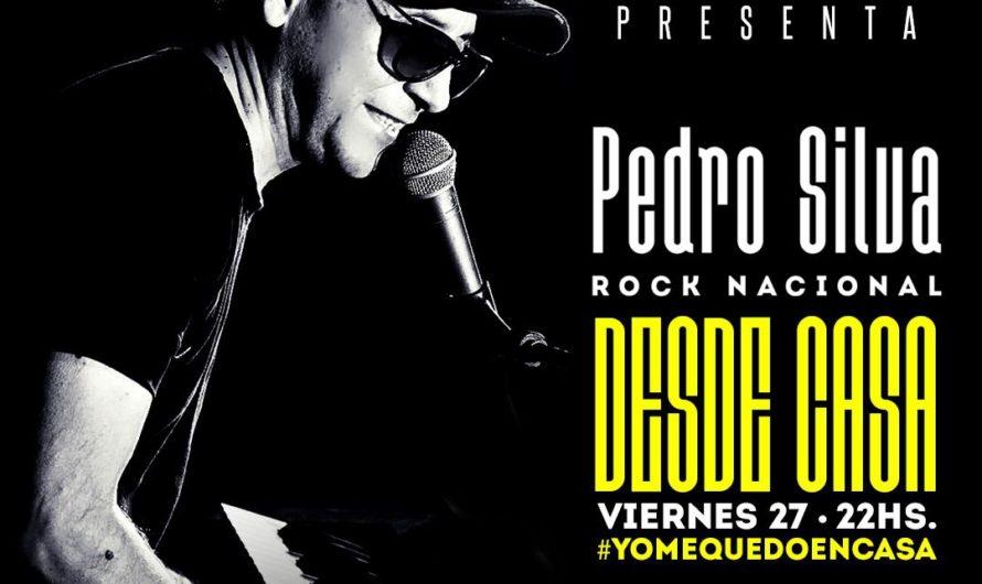 VIDEO: Reviví el show online de Pedro Silva «desde casa» con todo el Rock Nacional