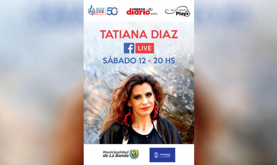 Tatiana Díaz en vivo, este sábado 12, a través del Facebook de NDW, EMP y LV11