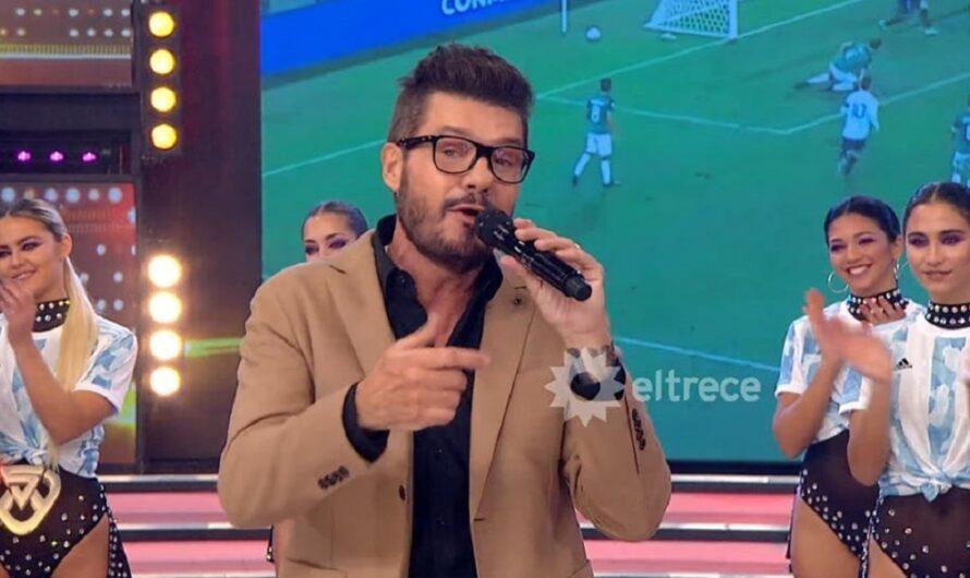 Marcelo Tinelli celebró, al borde de las lágrimas, el título de la Selección: mirá el video