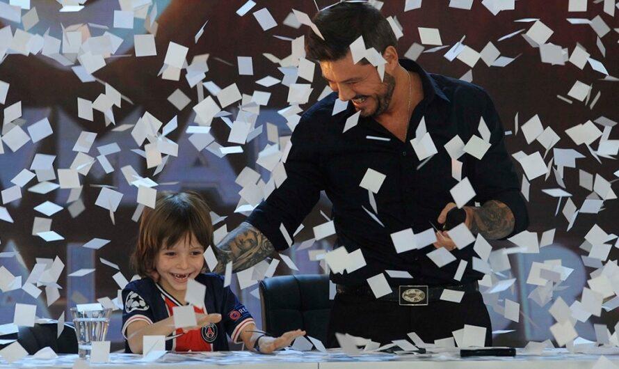 La tierna presentación de Marcelo Tinelli con su hijo en el especial de humor de ShowMatch [VIDEO]