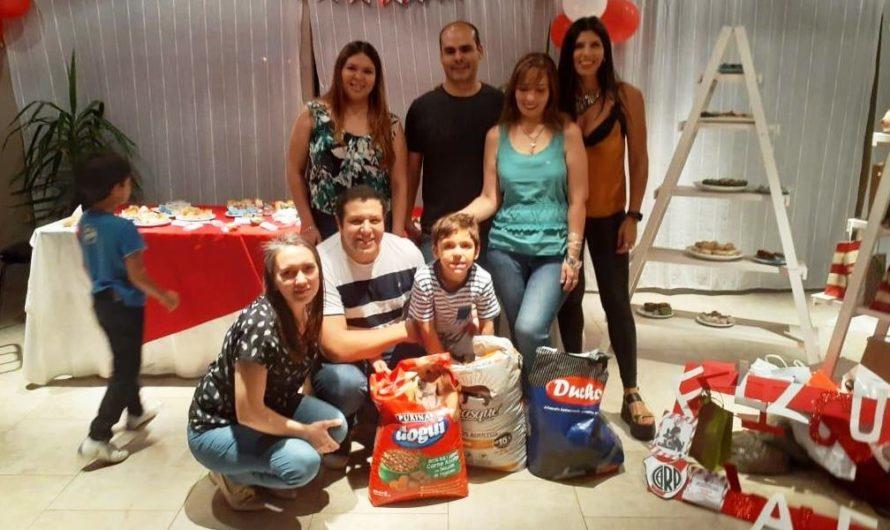 Es santiagueño, tiene 6 años y cambió sus regalos de cumpleaños por alimento para refugios de animales