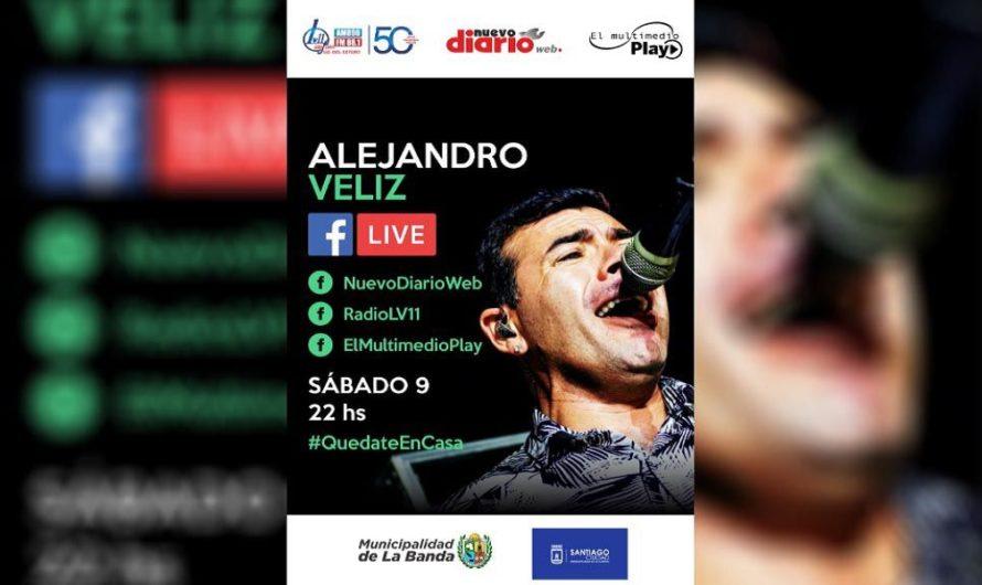 Reviví el show de Alejandro Véliz para toda la provincia y el mundo, a través de El Multimedio Play, Nuevo Diario Web y Radio LV11