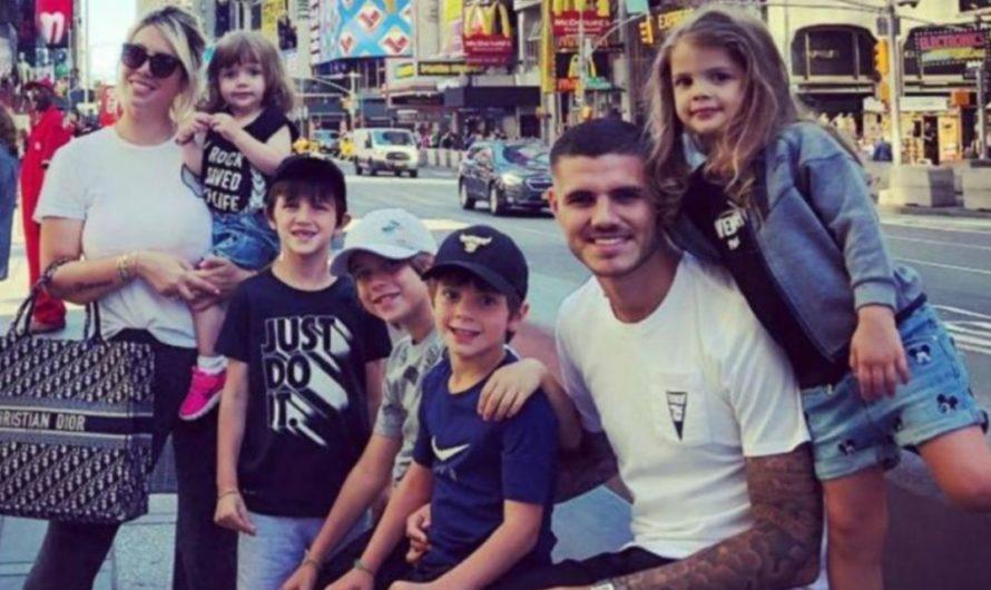 El video de los hijos de Wanda Nara llamando «papá» a Mauro Icardi