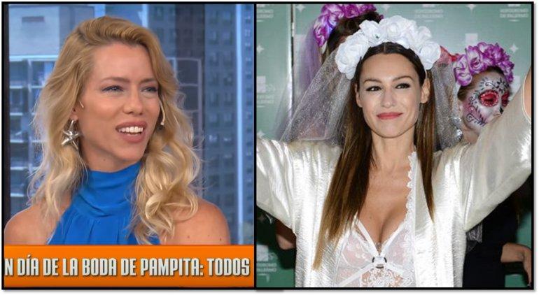 Nicole Neumann, fulminante con el menú de Pampita para su boda