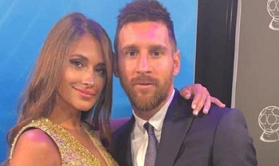 La romántica foto de Messi y Anto en París que se llevó todas las miradas