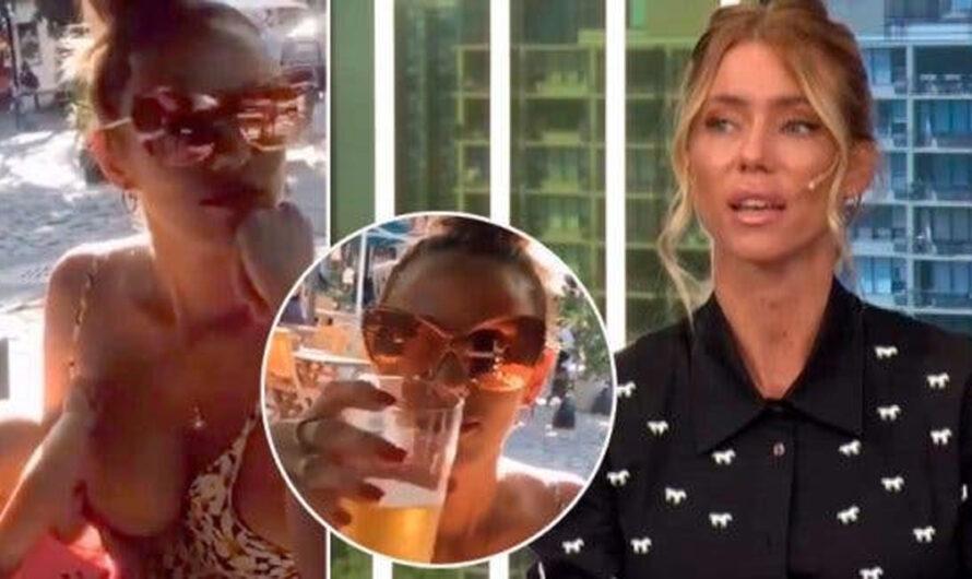 Nicole Neumann, indignada al ver a Barby Silenzi amantando después de tomar alcohol