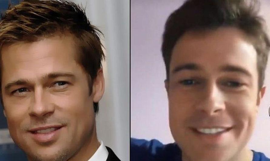 Joven argentino causa furor en TikTok por su increíble parecido con Brad Pitt