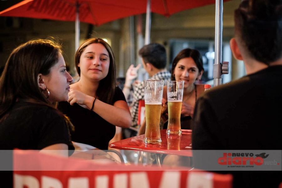 Inauguración temporada de chop en Zinco Bar