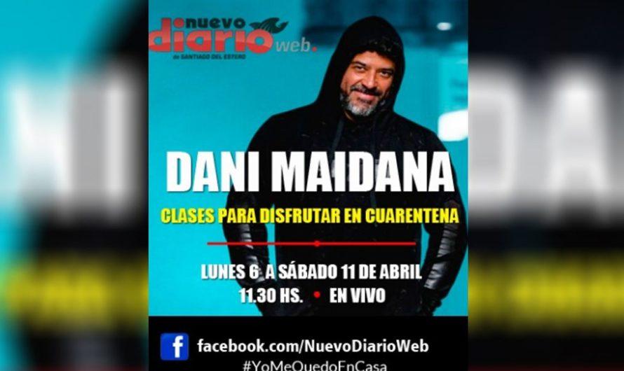Mantente en forma con EMP y NDW: Daniel Maidana brindará clases virtuales de gimnasia