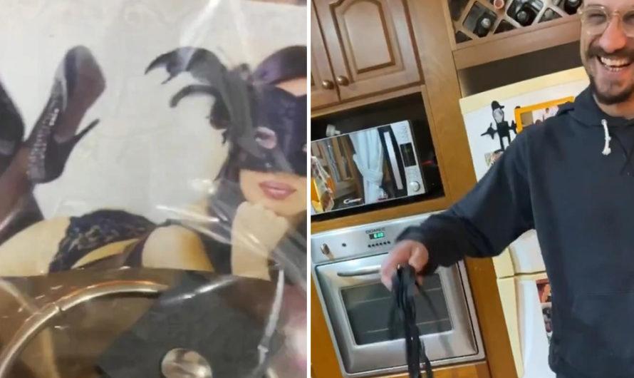 Látigos, esposas y más: Jimena Barón y Daniel Osvaldo, con juguetes íntimos