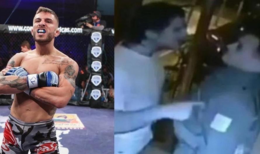Golpeó a un guardia que le podía no romper la cuarentena: un luchador de MMA lo invitó a pelear