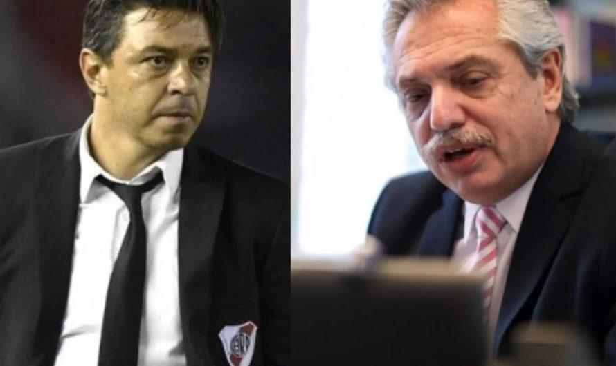 Alberto Fernández habló con Gallardo sobre la posibilidad: ¿vuelve el fútbol?