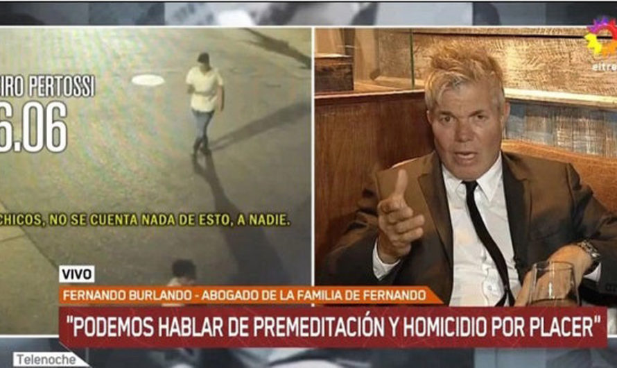 """Burlando: """"Disfrutaron lo que hicieron, eso es homicidio por placer"""""""