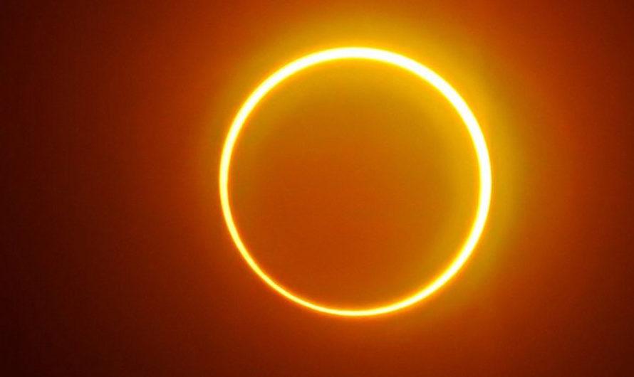 Un eclipse solar excepcional deslumbró a los aficionados de la astronomía
