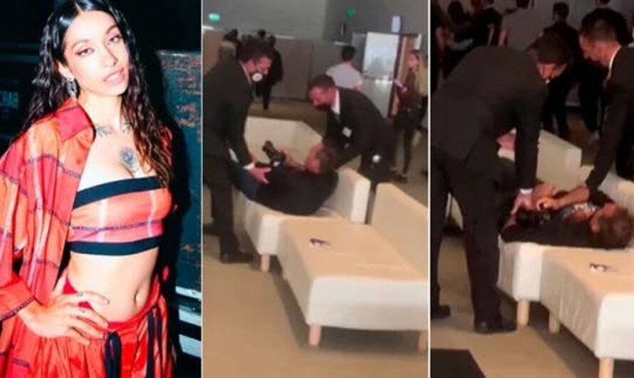 Escándalo: María Becerra y el violento ataque a un periodista
